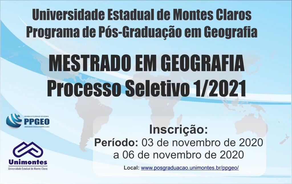 Processo seletivo 1/2021