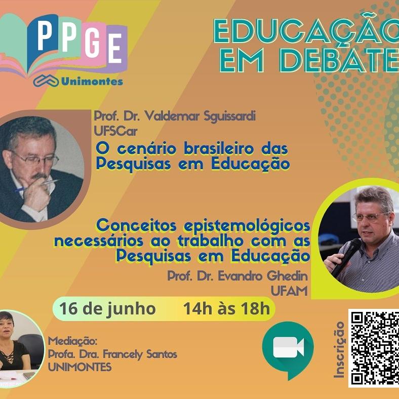 PPGE REALIZA SEMINÁRIO EDUCAÇÃO EM DEBATE